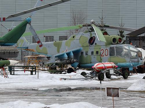 (2201407) 20 red Mi-24 Riga-Skulte 10-03-18
