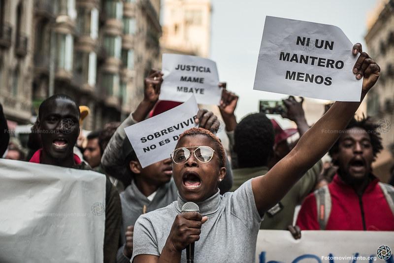 2018_03_16 Contra el asesinato de Mmame Mbage_Xavi Ariza(03)