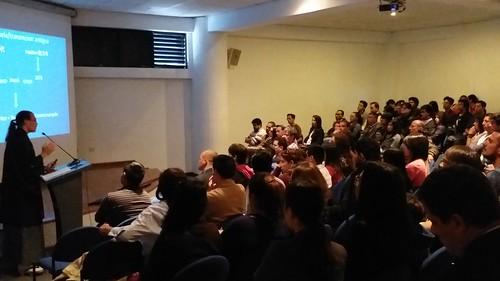 Conferencia: Koryû bujutsu, la enseñanza marcial samurái del siglo XII al XIX, en la Universidad Pontificia Católica de Quito (Ecuador)