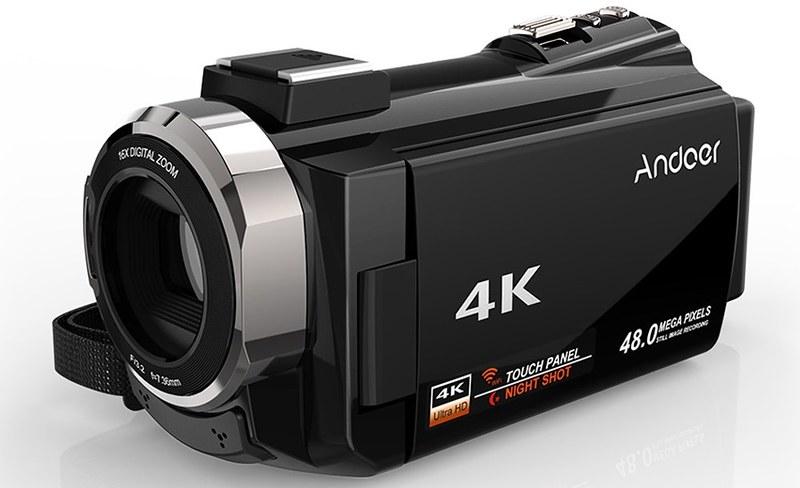 Andoer 4K ビデオカメラ (5)