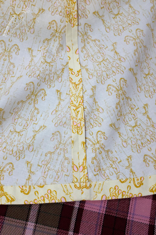 marchewkowa, blog, szycie, sewing, rękodzieło, handmade, moda, styl, vintage, retro, repro, 1960s, Wrocław szyje, w starym stylu, ręcznie wykończenia, sukienka dwuczęściowa, two-piece dress