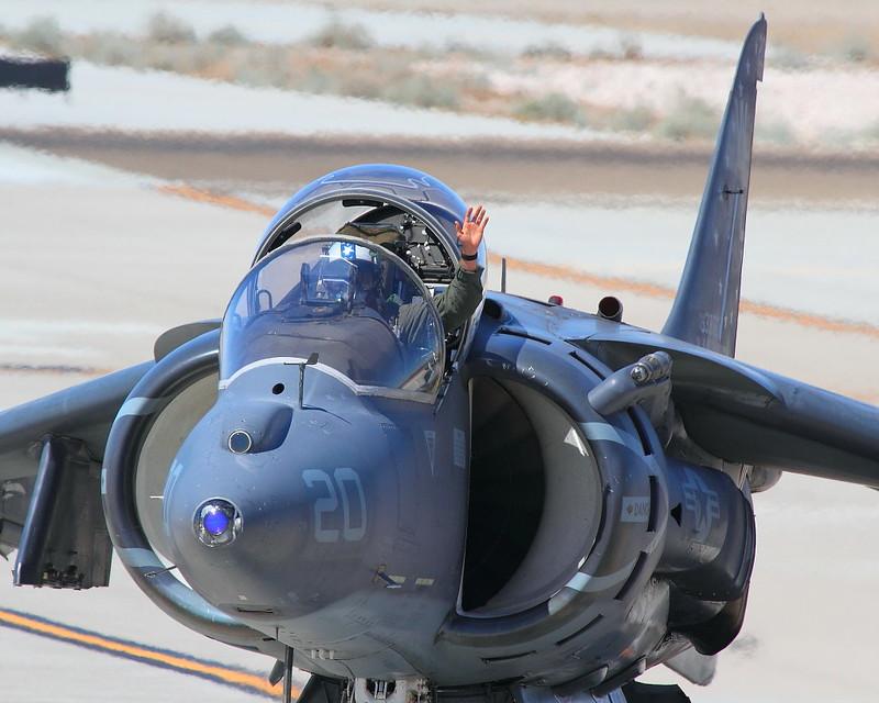 IMG_3669 AV-8B Harrier II, MCAS Yuma Air Show