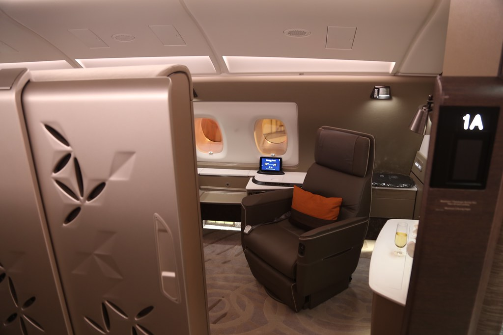 Singapore Airlines First Class Suites 10