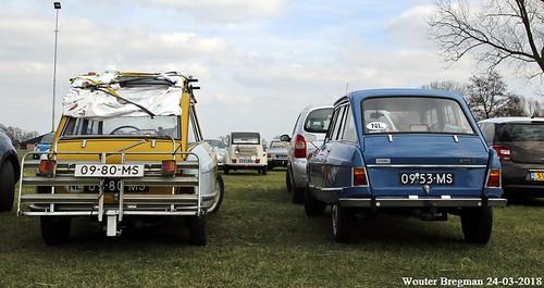 2 x Citroën Ami 8 Club 1970