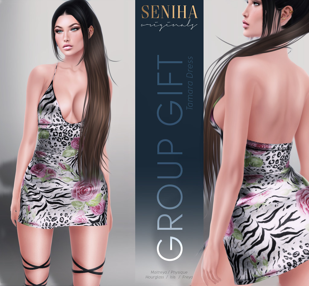 **GIFT**Seniha. Tamara Dress // GIFT - TeleportHub.com Live!