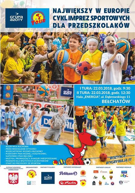 Plakat GAPT2018 Bełchatów