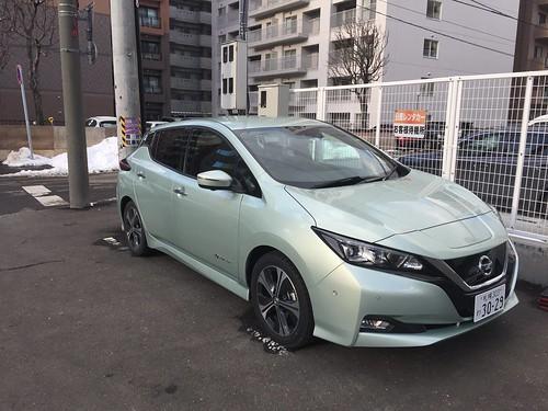 日産リーフ(40kWh)@日産レンタカー札幌北口店
