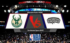 Milwaukee Bucks-San Antonio Spurs Mar 25 2018