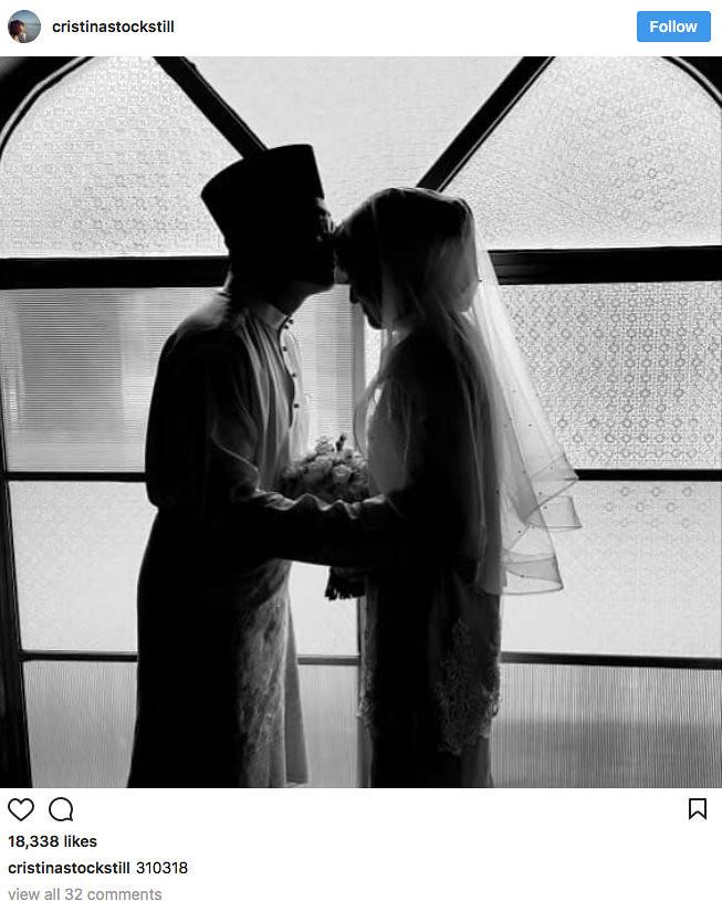 Cristina Suzanne Selamat Nikah Dengan Jejaka Johor