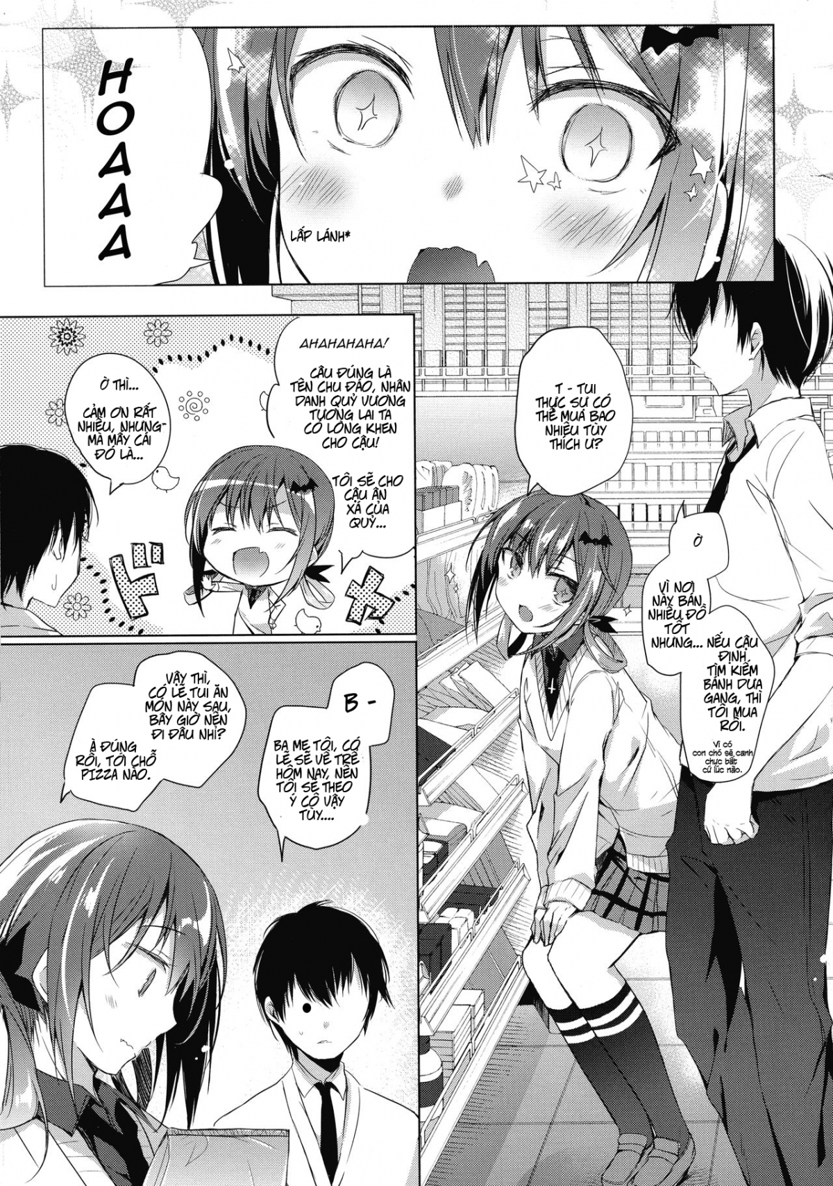 Hình ảnh  trong bài viết Truyện hentai Satania to Ore