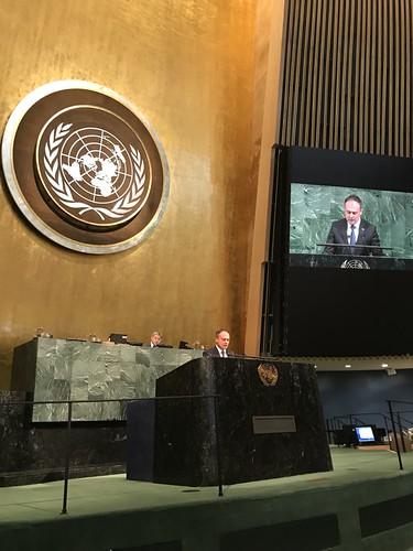 12.04.2018 Reuniunea Adunării Generale a ONU privind siguranța rutieră, News York