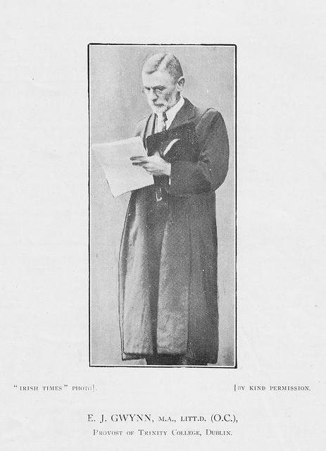 E.J. Gwynn, 1927
