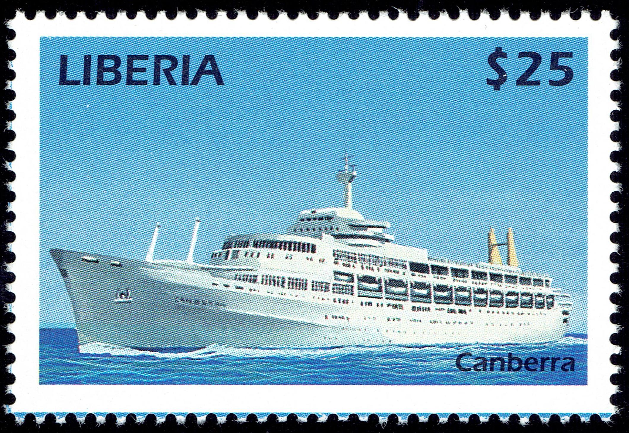 Liberia - StampWorld #2633 (1999)