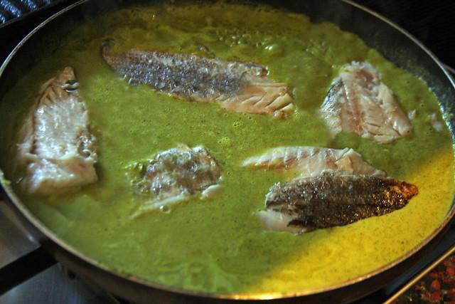 Merluza Negra en Salsa de Cilantro y Huacatay (4)