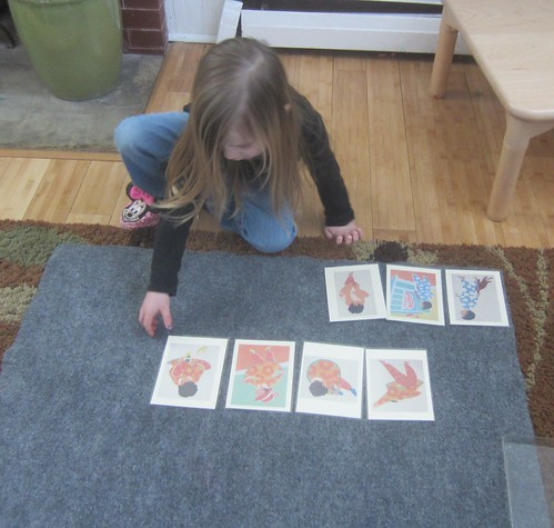 sequencing a story
