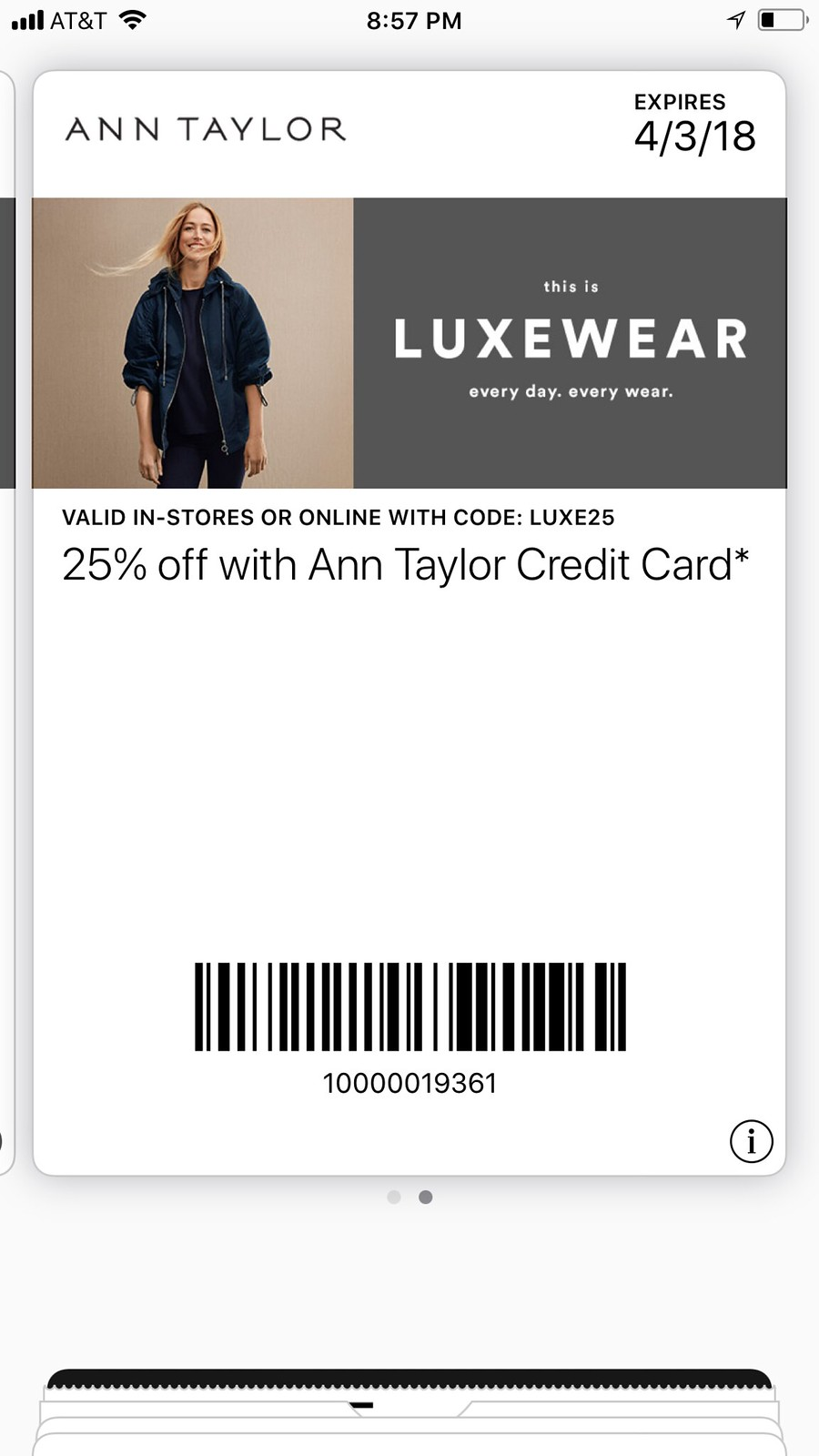 Ann Taylor March-April Coupon Codes