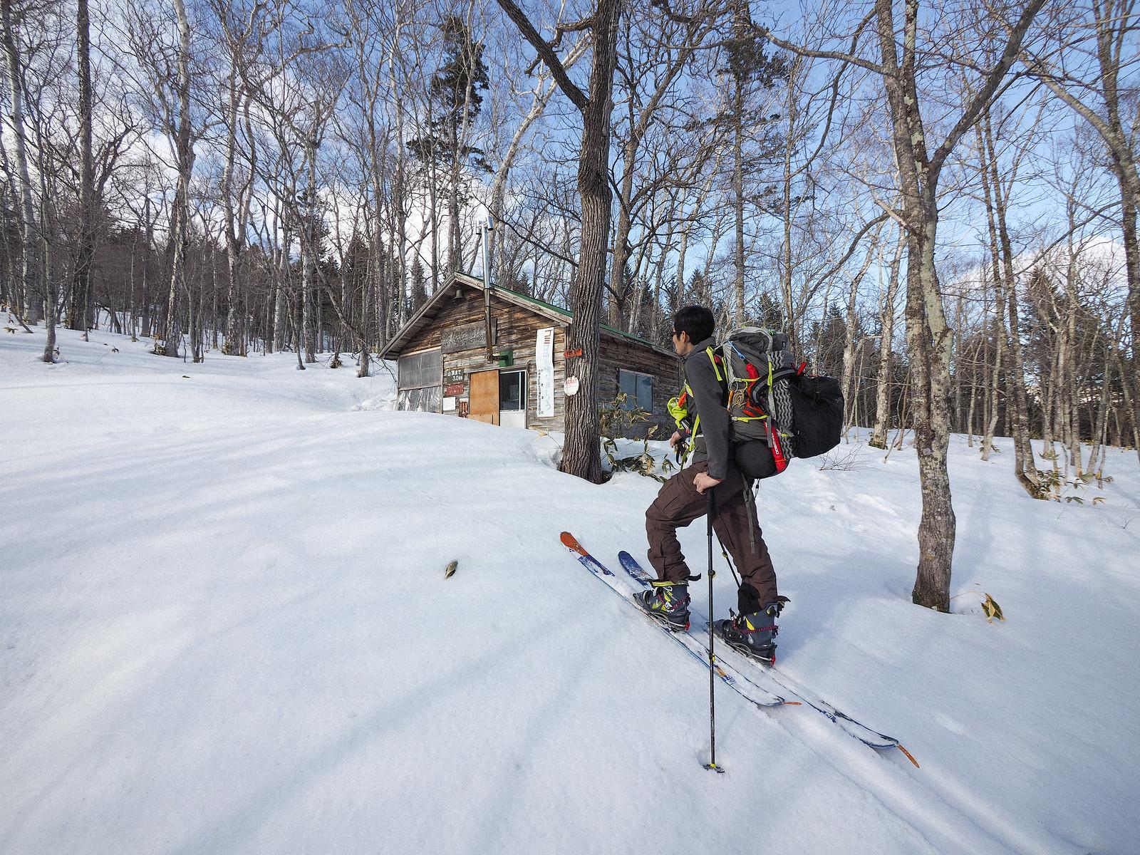 Mt. Musa and Mt. Musa Hut ski touring (Hokkaido, Japan)