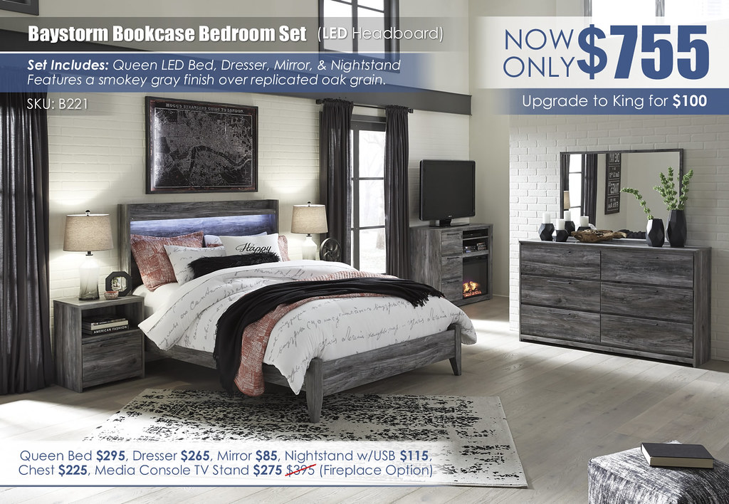 Baystorm LED Bedroom Set_B221-31-36-48-57-54-91