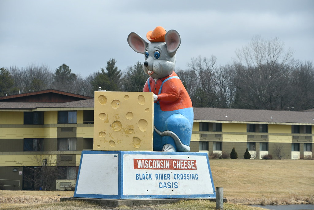 Giant Mouse, Black River Falls, WI