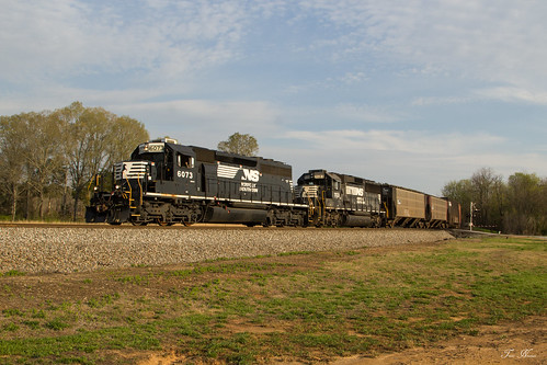 norfolk southern train railroad freight manifest local emd sd402 gp60 control point green atlanta north district georgia division g39