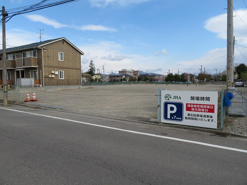 福島競馬場の第7駐車場