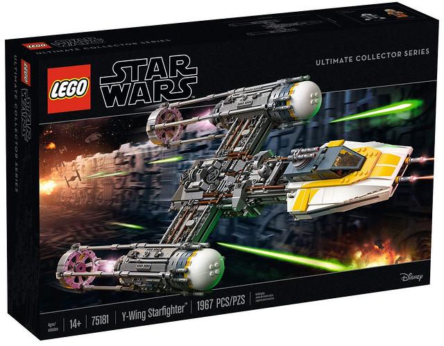 精密複雜的管線細節令人大呼過癮!! LEGO 75181《星際大戰》終極收藏家系列【Y 翼戰機】Star Wars UCS Y-Wing Starfighter
