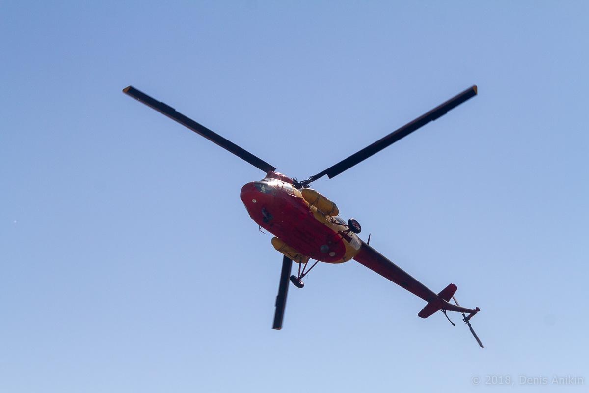 Вертолёт Ми-2 выступление фото 5