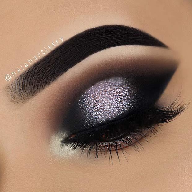 33 Pretty And Sparkly Nye Makeup Ideas 2018 Fashionre