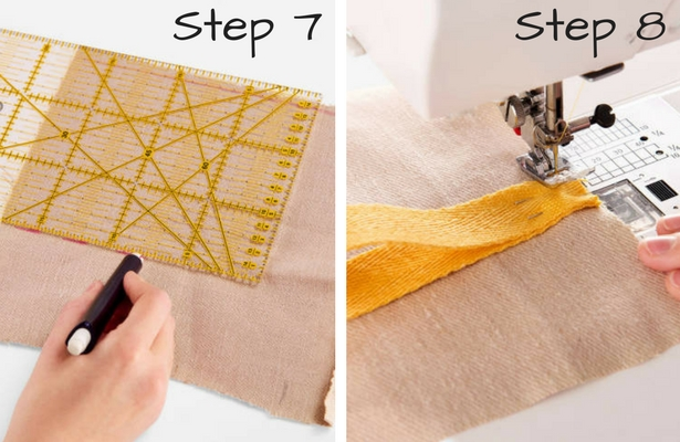 DIY Smoothie Bag Steps 7 8