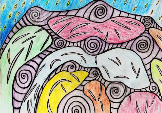 Rainbow Amoeba