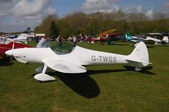 G-TWSS Silence Aircraft Twister [PFA 329-14608]  Popham 020509
