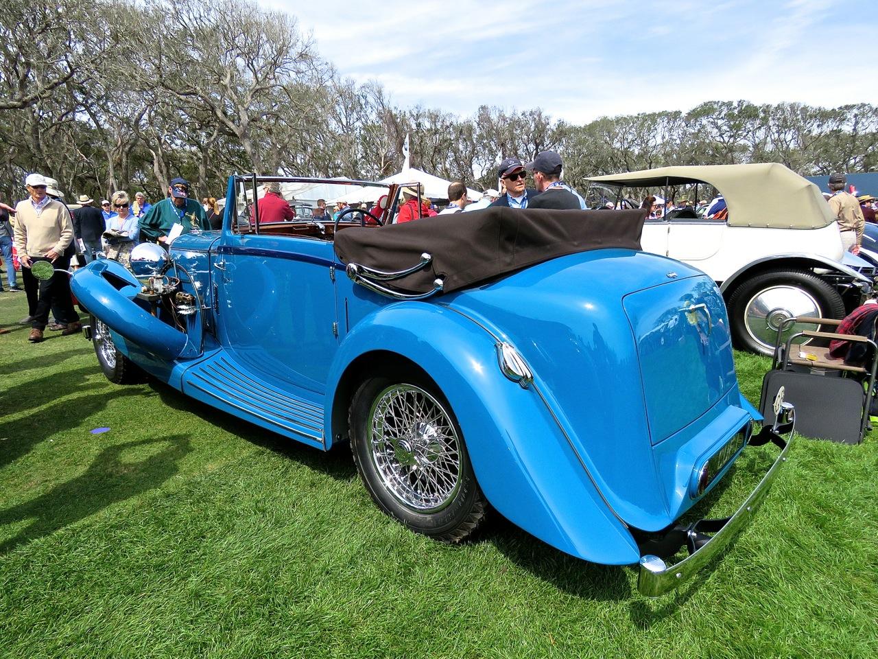 1936 Lagonda LG45 Amelia 7