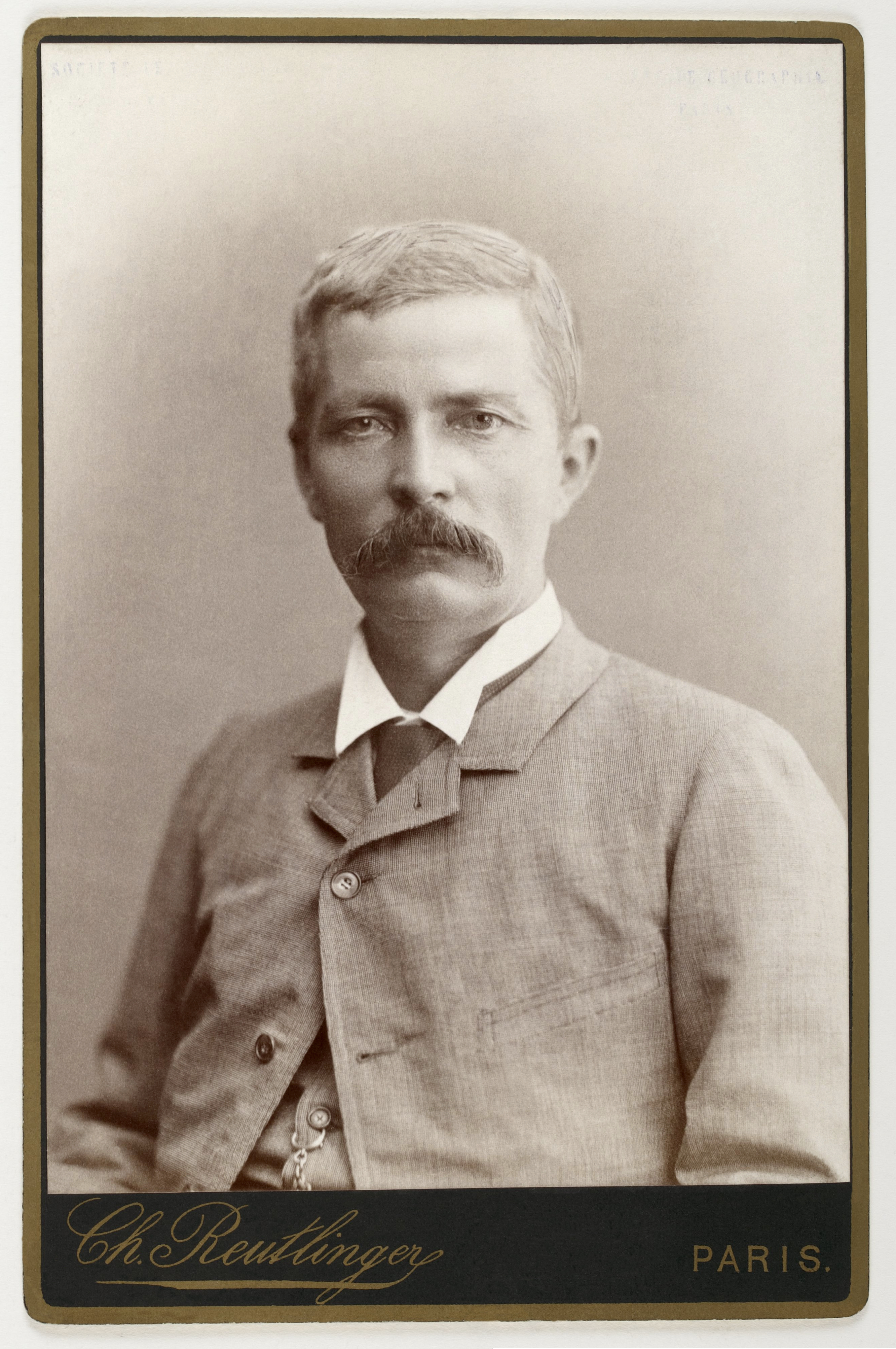 Henry Morton Stanley, 1884.