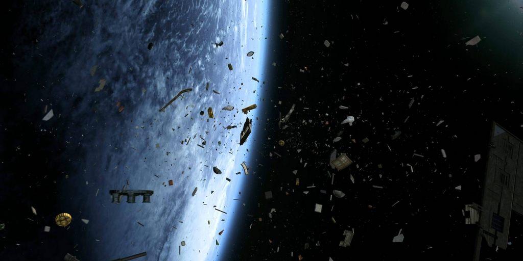Airbus veut nettoyer les débris en orbite avec un harpon géant