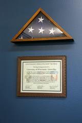 Veterans Lounge Re-dedication