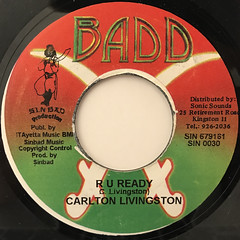 CARLTON LIVINGSTON:R U READY(LABEL SIDE-A)