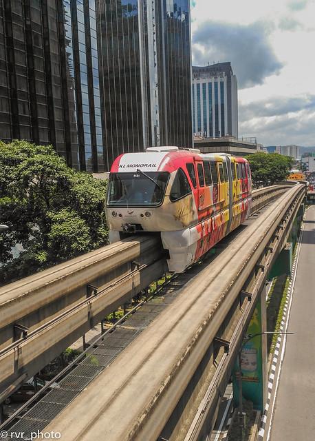 KL Monorail, Kuala Lumpur, Malasia