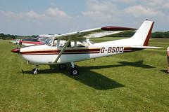 G-BSOO Cessna 172F (172-52431) Popham 080608