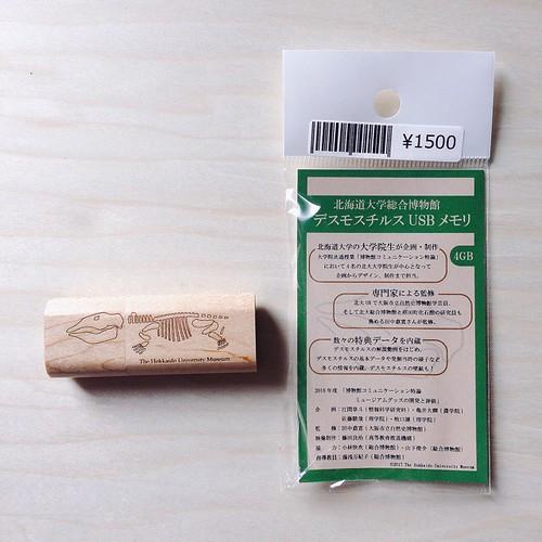 デスモスチルスUSBメモリ ¥1500