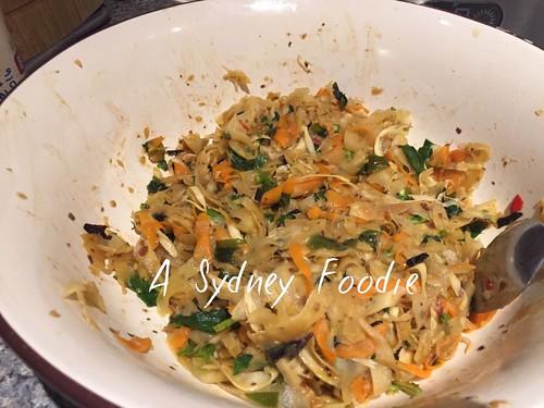 Food scrap kimchi