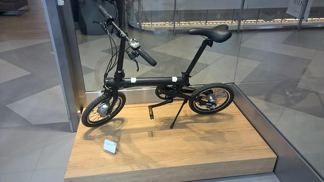 Vélo électrique QICYCLE - de retour bientôt