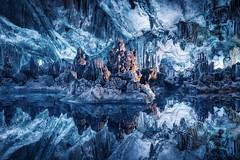 La caverne bleue Guilin Chine