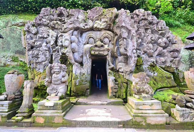 bali itinerary goa gajah