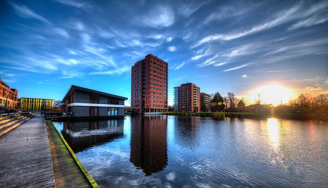 Dutch skyscraper.