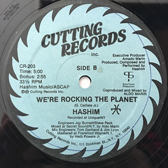 HASIM:WE'RE ROCKING THE PLANET(LABEL SIDE-B)