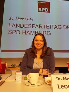 Landesparteitag SPD Hamburg März 2018