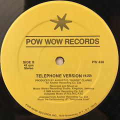 J.C. LODGE:TELEPHONE LOVE(LABEL SIDE-B)