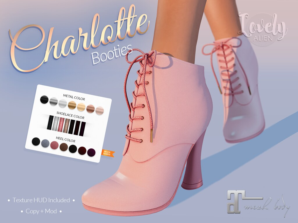 Charlotte Booties For: The Project Se7en - TeleportHub.com Live!