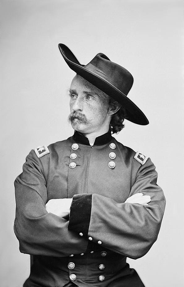 Brigadier General (Brevet Major General) George Armstrong Custer