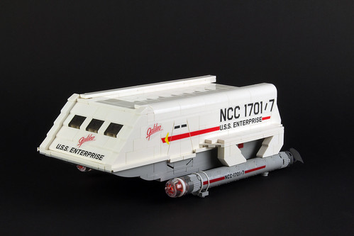 Enterprise 1701 shuttle Galileo